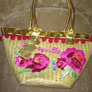 Betseyville straw tote